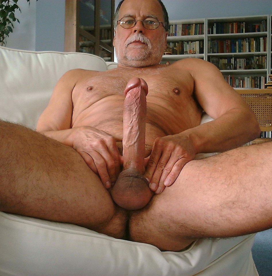 Silver daddies with big cocks